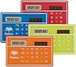 Solar Pocket Pal Calculators